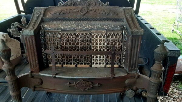 Pioneer Antique natural gas Heater $400.00