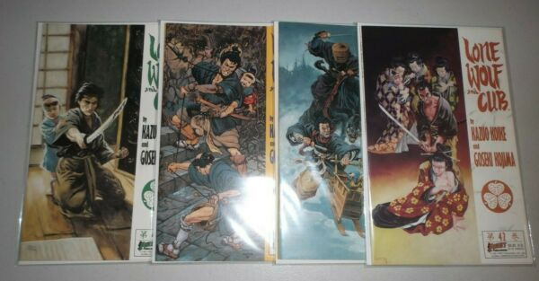 Lone Wolf and Cub #42 45 Final 4 issues 1987 series RARE 43 44 45 amp;