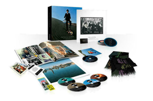 Pink Floyd Wish You Were Here Immersion Edition CD damaged box without coaster $54.99