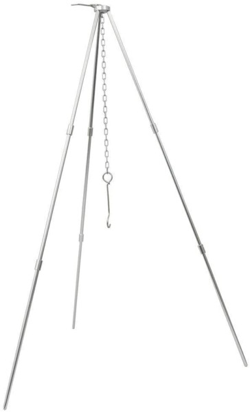 Camp Fire Tripod Portable Outdoor Cooking Picnic Dutch Oven Lantern Hanger Stand