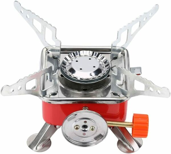 Ultralight Portable Backpacking Gas Butane Propane Outdoor Camp Gas Stove Burner