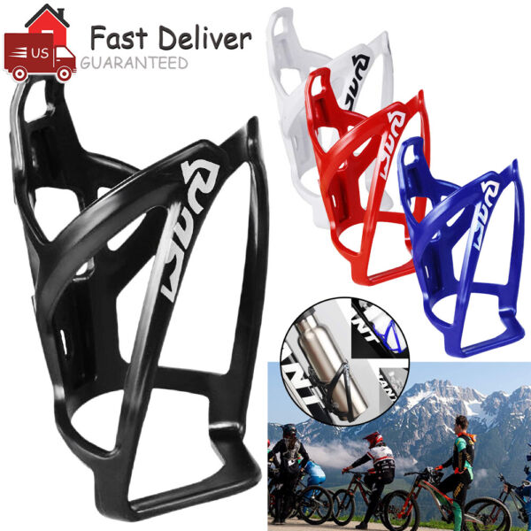 Cycling Bike Water Bottle Holder Mount Handlebar Bicycle Bottle Cage Drink Cup $6.59