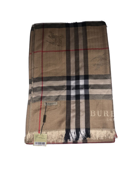 BURBERRY SCARF BEIGE COLOR $200.00