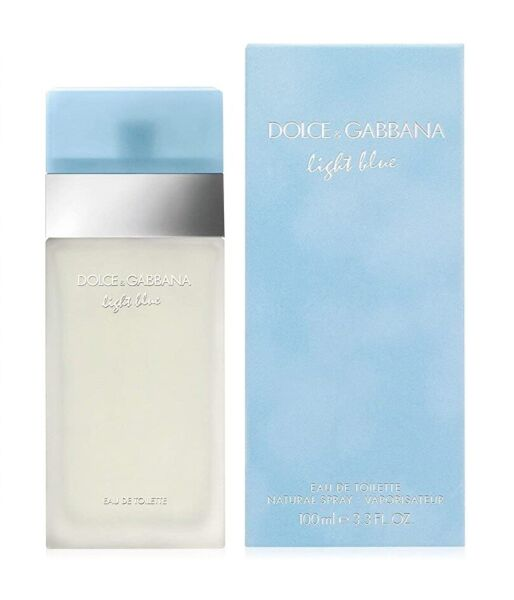 Light Blue by Dolce amp; Gabbana Perfume For Women 3.3 fl oz EDT Brand New amp; Sealed