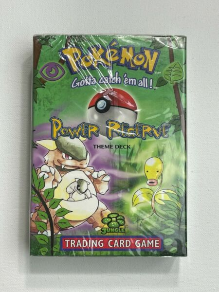 Sealed Pokemon Jungle Power Reserve Theme Starter Deck WOTC VERTICAL SEAL