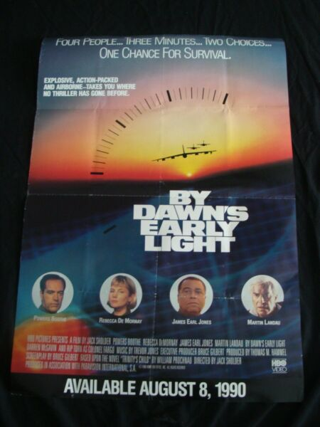 BY DAWNS EARLY LIGHT movie poster POWERS BOOTH JAMES EARL JONES original video