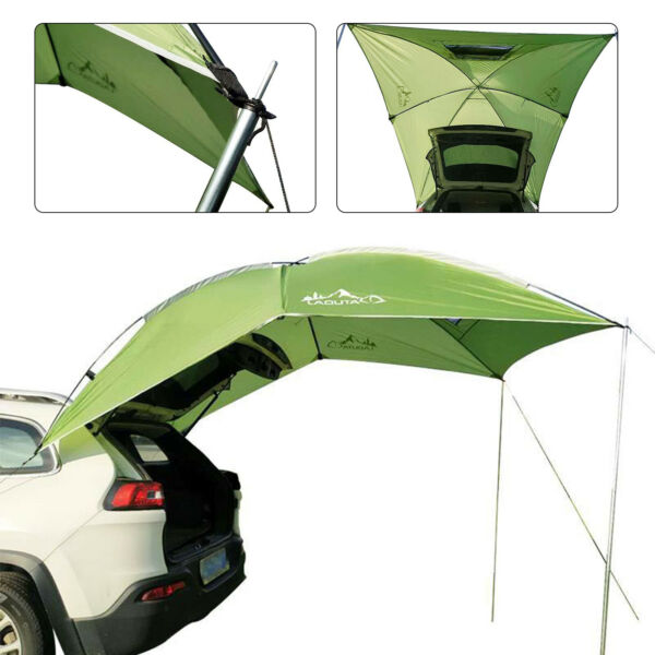 Car Tent Awning Rooftop SUV Shelter Truck Camper Camping Canopy Sunshade Outdoor $76.99