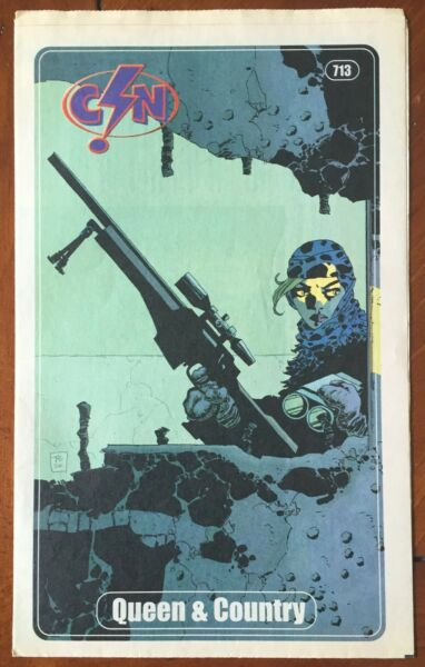 Comic Shop News #713 quot;Queen amp; Countryquot; Cover Art from Oni Comics CSN $15.55