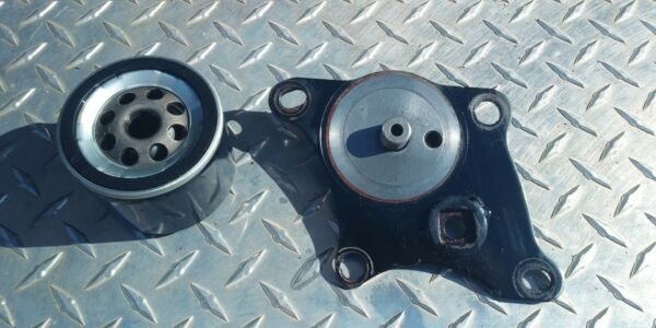 1983 USA HARLEY OIL FILTER PLATE FRONT MOTOR MOUNT IRONHEAD SPORTSTER XLX HD $49.00