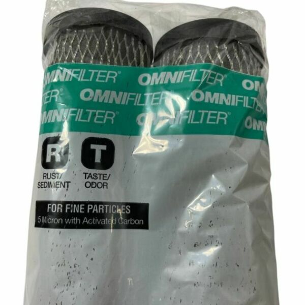 Activated Carbon Water Filter Cartridge Replacements Omnifilter Model TO1