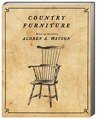 Country Furniture by Aldren A. Watson Paperback NEW $14.99