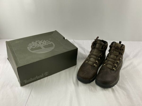 Timberland Mens Chochorua Trail Round Toe Ankle Military Brown Green Size 10.5 $59.99