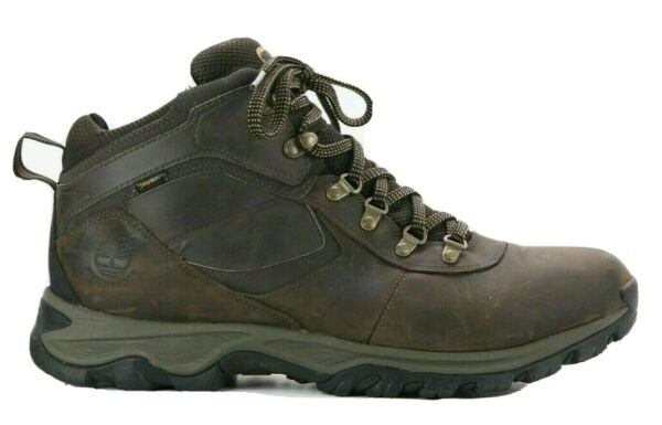 Timberland Men#x27;s Mt. Maddsen Mid Waterproof Hiking Boot 2730R Brown US Size 14W $59.95