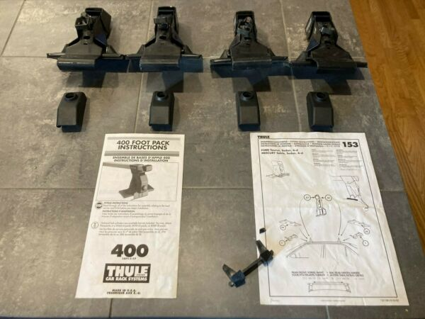 Thule 400 Foot Pack and Thule 153 Fit Kit for Thule Car Roof Rack Systems $70.00