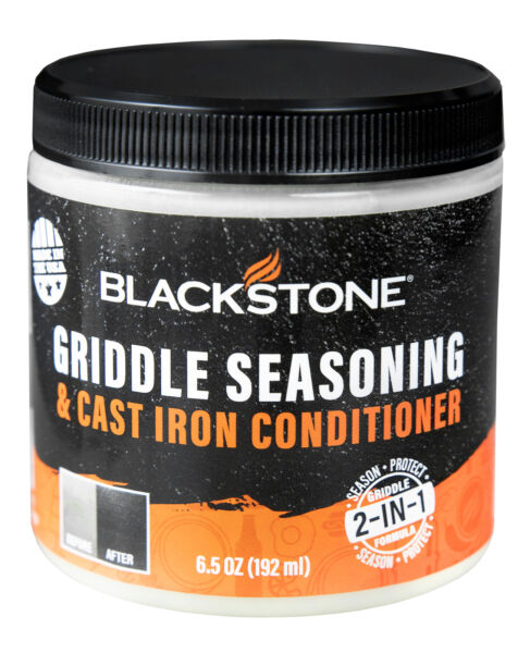 Blackstone Griddle Seasoning And Cast Iron Conditioner Well Protected 2 in 1 NEW