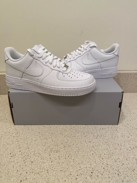 Nike Air Force 1 Low Triple White '07 BRAND NEW Mens Sizes