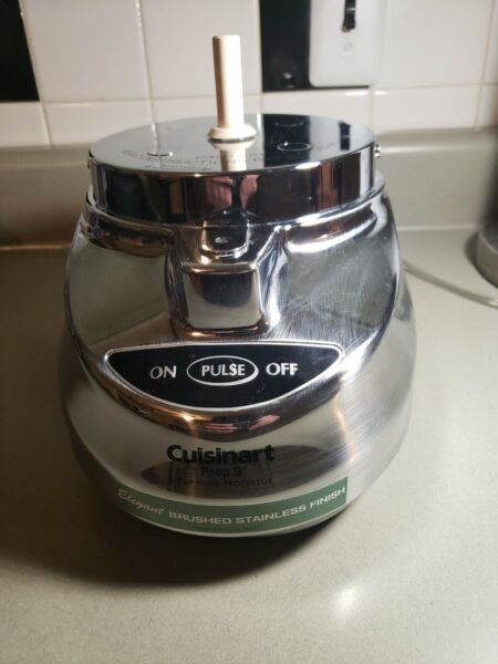 Cuisinart Prep 9 DLC 2009CHB Food Processor Brushed Stainless Base Only