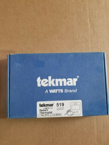 Tekmar 519 stat and slab sensor $75.00