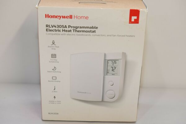 Honeywell RLV4305A Programmable Electric Heat Thermostat 44HM $25.00