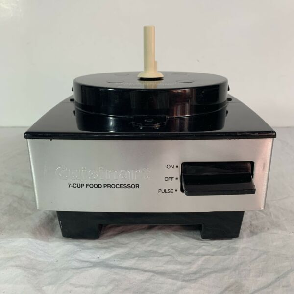 Cuisinart Food Processor Original 7 Cup Motor Base Only DFP 7BC Stainless Finish
