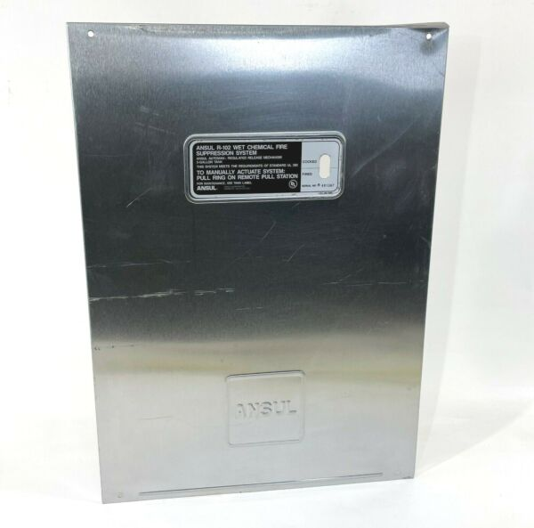 Stainless Cover Door for ANSUL R 102 Automan Fire Suppression System