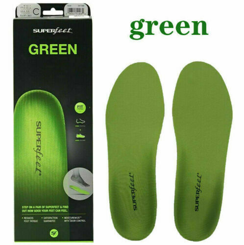 The Premium Superfeet Green Insoles Professional Grade High Arch Orthotic Insole