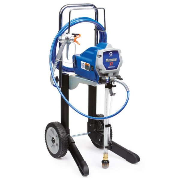Graco X7 Magnum Electric Airless Sprayer 262805 w wty and New Hose Refurbished $291.00
