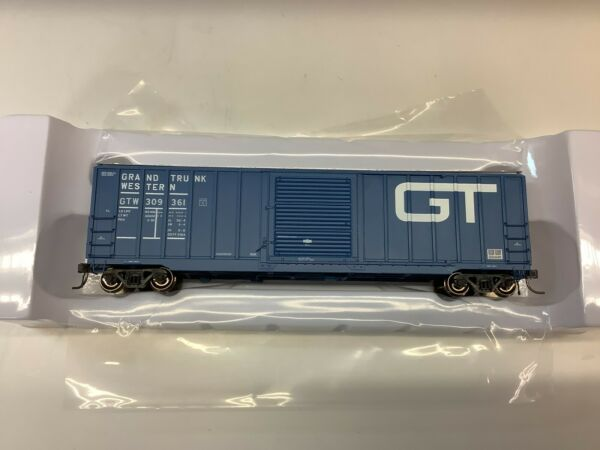 "Atlas #20 005 638 HO scale""Grand Trunk Western"" 50#x27; Berwick box car Rd.#309361 $33.95"