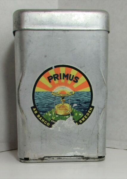 Vintage Primus Sweden No. 71 Camp Gas Stove Backpacking W Original Case amp; Tools