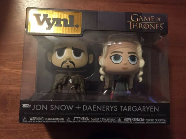 Funko Game of Thrones Vynl. John Snow Daenerys Targaryen 2 pack