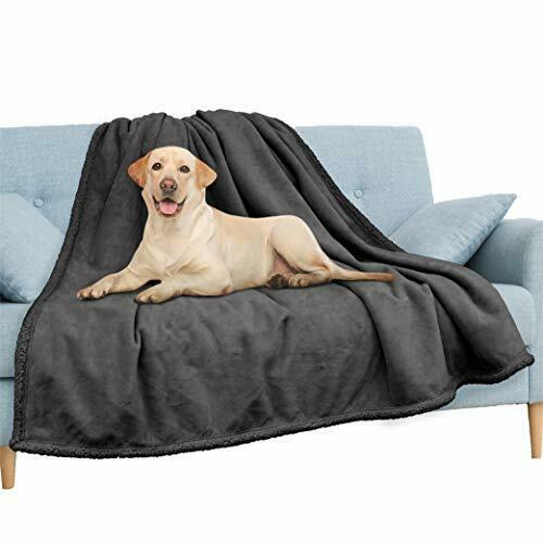Waterproof Blanket for Couch Sofa Waterproof Dog 60x80 Inches Charcoal $52.12