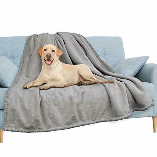 Waterproof Blanket for Couch Sofa Waterproof Dog 60x80 Inches Light Grey $52.12