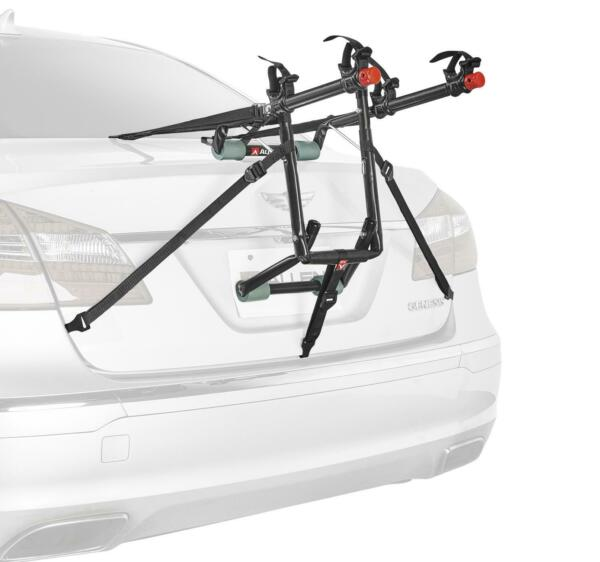 2 Bike Car Rack Carrier Trunk Rear Mounted SUV Bicycle Sedans Sturdy Safe NEW $46.99