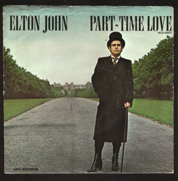 Elton John Part Time Love 1978 Picture Sleeve Only