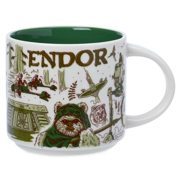 Disney Star Wars May The 4th 2021 Starbucks Mugs Been There ENDOR