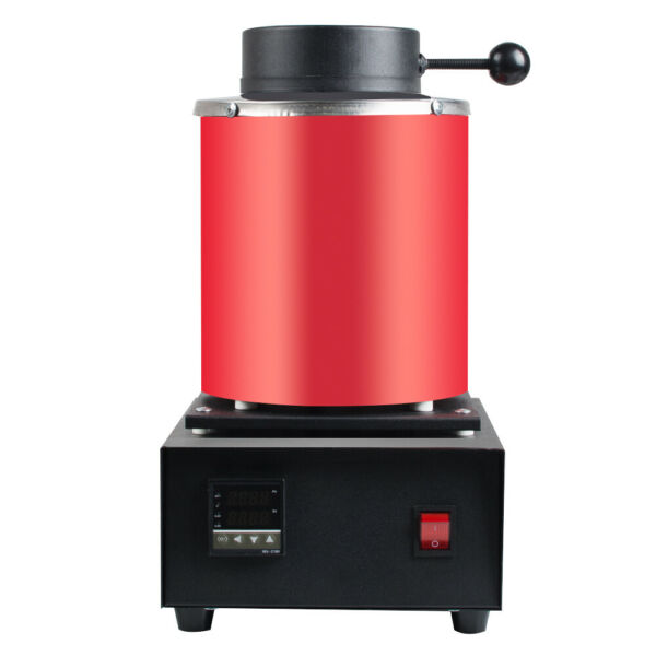 Digital Electric Melting Furnaces Machine Heating 3KG Gold Silver Jewelry Tools $209.00