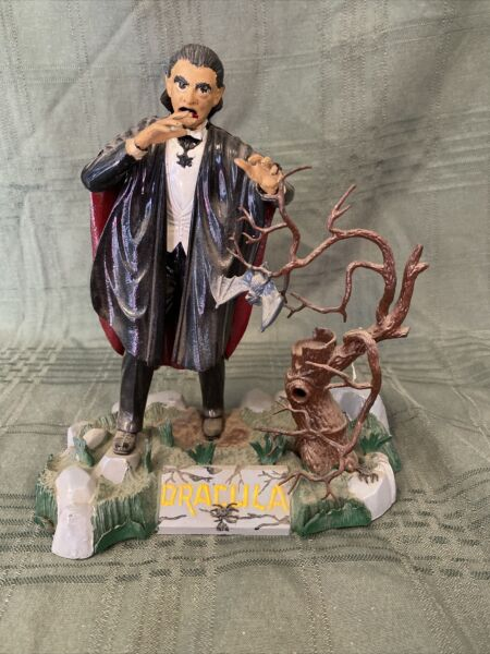 VINTAGE AURORA 1962 DRACULA MONSTER MODEL BUILT UP