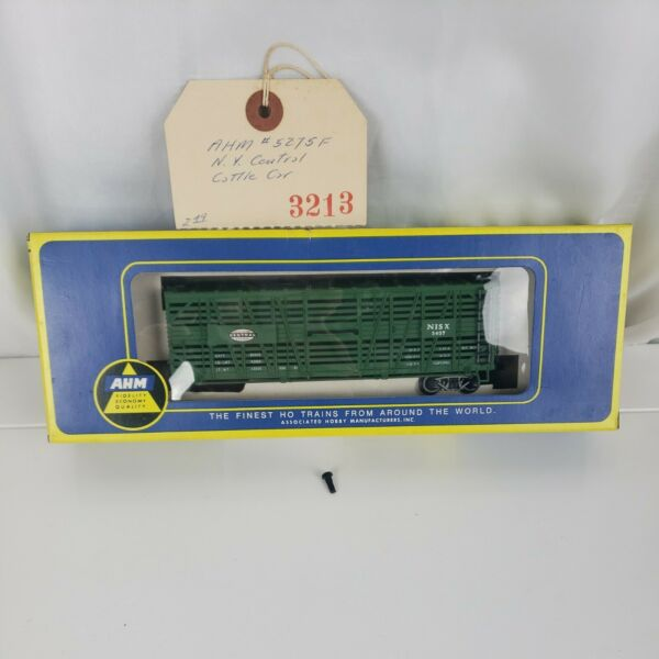 Vintage AHM HO Scale Cattle Car New York Central Model 5275F Made in Austria $17.00