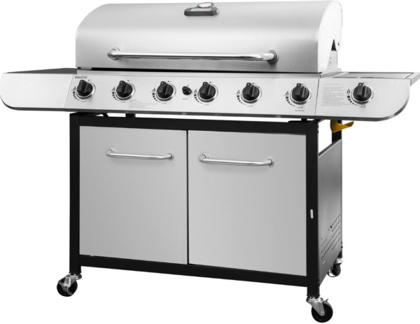 Royal Gourmet SG6002 Cabinet Propane Gas Grill 6 Burner Stainless Steel New