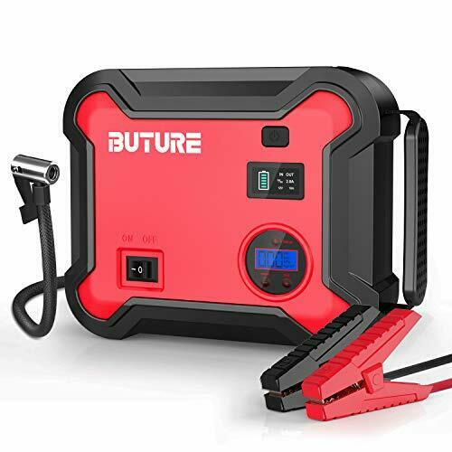 Car Jump Starter with Air Compressor Auto Battery Booster Emergency Light $158.88