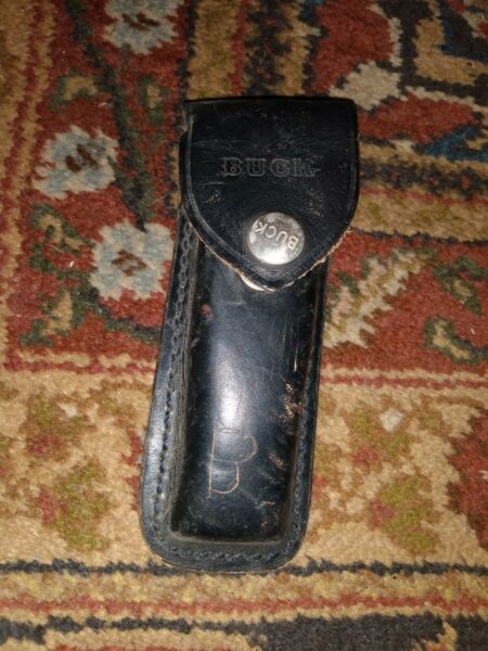 Vintage Buck 110 Lockback Folding Sheath ONLY