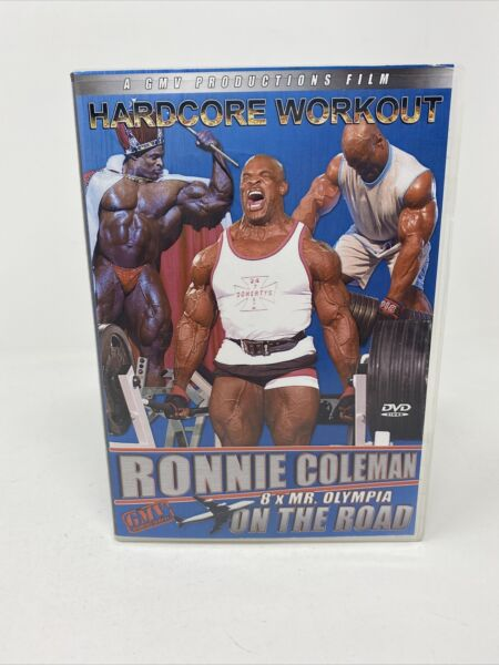 Ronnie Coleman On the Road DVD 2005 Bodybuilding Fitness GMV NTSC $27.95