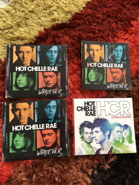 Hot Chelle Rae cd lot signed booklet Lovesick Electric and Whatever $15.00