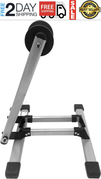 Bicycle Trainer Stationary Bike Cycle Stand Indoor Exercise Training Foldable $34.99
