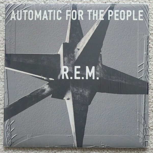R.E.M. AUTOMATIC FOR THE PEOPLE VINYL LP SHRINK 1990#x27;s PRESS w INSERT $149.99