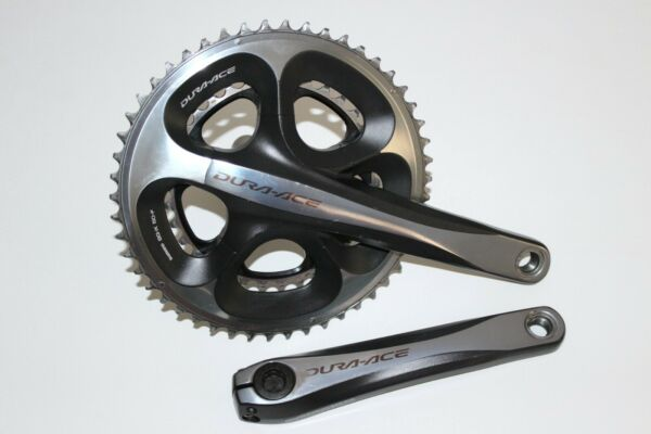 SHIMANO DURA ACE COMPACT CHAINSET CRANK 172.5mm 10 SPEED DOUBLE BIKE FC 7950 GBP 129.99