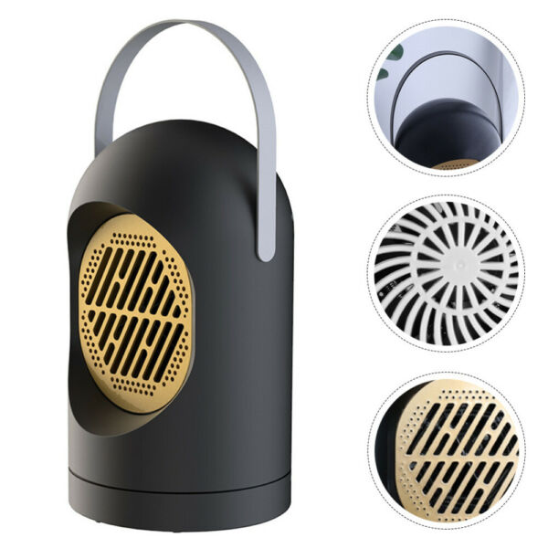 Mini Office Electric Heater Warmer Home Space Heating Portable Small Fan Quiet $20.89