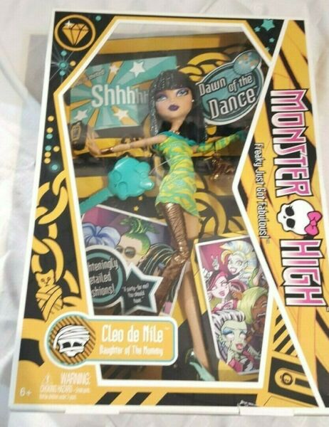 Monster High Cleo de Nile First Wave 2009 $69.99