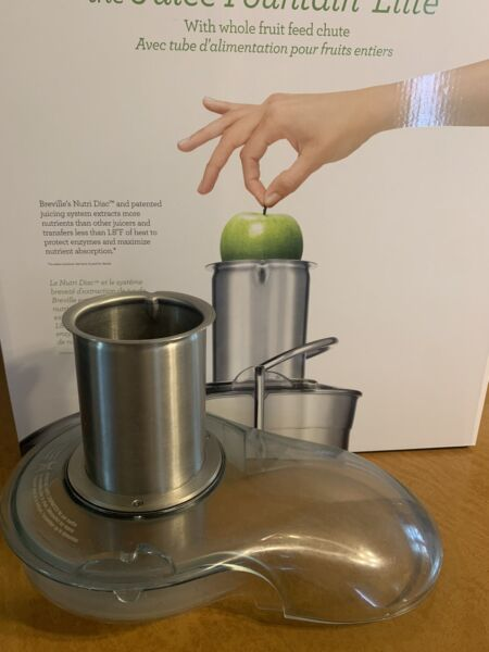 Breville Fountain Elite 1000W Electric Juicer 800JEXL Cimpete