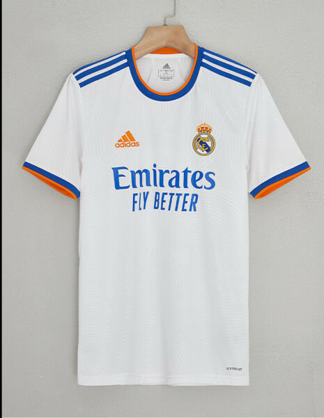 2021 22 Real Madrid Home Shirt for Adult